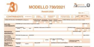Modello 730 precompilato: on line la dichiarazione dei redditi 2021