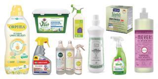 Detersivi ecologici per l'ambiente e la salute