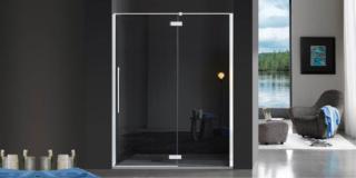 Doccia con porta a battente: 13 modelli per il bagno moderno