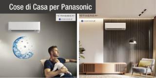 Climatizzatori: efficienza e design per  la nuova Etherea di Panasonic