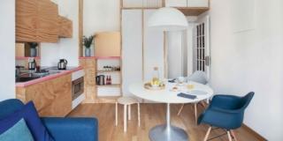 Bilocale con mini cucina, ristrutturato in tempi ridotti e a budget contenuto