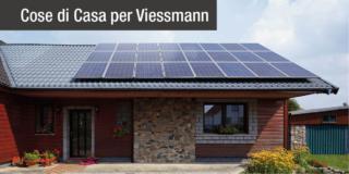 Fotovoltaico, con Viessmann un incentivo in più per produrre e consumare energia green