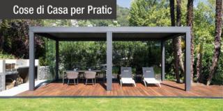 Pergole Opera di Pratic per Villa Colomba a Locarno