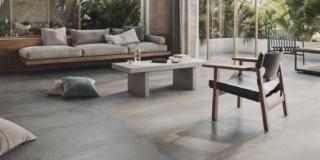 piastrelle Roots di Ragno effetto cemento superfici a base cemento dall'estetica volutamente lievemente imperfetta