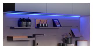 Illuminazione in cucina, intelligente e sanificante per aumentare la funzionalità e ridurre detersivi e fatica