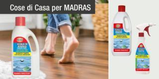 Per pulire tutte le superfici, Acqua di Madras, disinfettante con acqua ossigenata