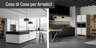 Legno e vetro: le cucine green di Arredo3 tra design e sostenibilità