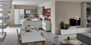 Cucina e soggiorno insieme: coordinati, ma quanto?