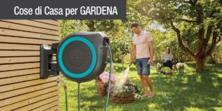 Nuovi avvolgitubo Gardena: irrigazione sempre a portata di mano