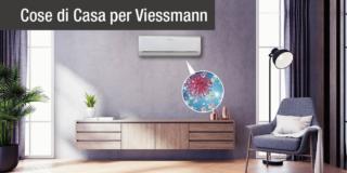 Una ventata d'aria pura, confortevole e fresca, con i climatizzatori Viessmann