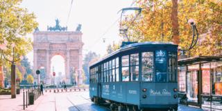 Tram ecostenibile per Fuorisalone 2021, il nuovo progetto di Michele Perlini Muoversi con Stile