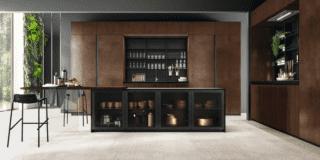 Cucine moderne con anta liscia