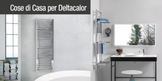 Scaldasalviette multifunzione Open iDeas di Deltacalor: radiatori stendi e asciugabiancheria