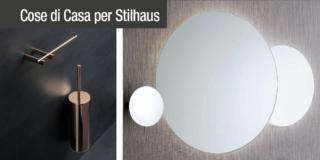 Accessori bagno: dal portascopino allo specchio, la qualità italiana di Stilhaus