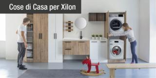 Bagno e lavanderia funzionali, 100% Made in Italy: la sfida di Xilon