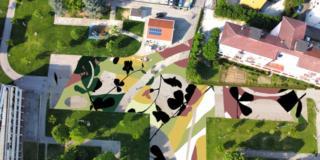 arte urbana Univer e Tellas @Without Frontiers Lunetta a Colori 2021