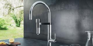 Acqua gasata e depurata direttamente dal rubinetto