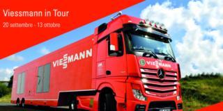 Viessmann: dal 20 settembre al 13 ottobre percorre l'Italia con il suo truck arancione