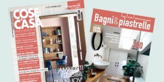 Cose di Casa di ottobre 2021 è in edicola dal 28 settembre, con Bagni&Piastrelle