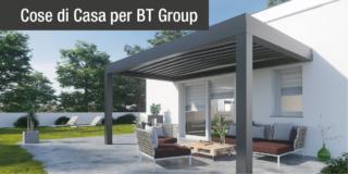 Pergole Bt Group, per vivere in libertà all'aria aperta