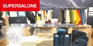 Plastica eco al Supersalone, dai tessuti agli arredi