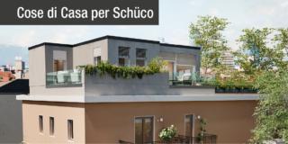 Nuovo parapetto per terrazzi e balconi: trasparenza e protezione con  Schüco AR FG 300