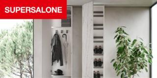 """Nuovi contenitori al """"supersalone"""": sistemi a parete, armadi, cabine e complementi dalla doppia funzione"""