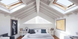 Camera da letto in mansarda: i benefici della luce naturale sul benessere psicofisico