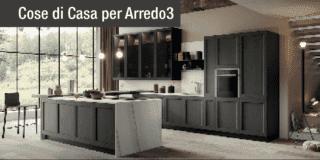 Cucina classica o moderna? Dilemma risolto con un modello Arredo3 dalla duplice personalità!
