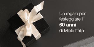 Voucher omaggio fino a 500 euro, per i 60 anni di Miele per acquisti entro il 19 ottobre